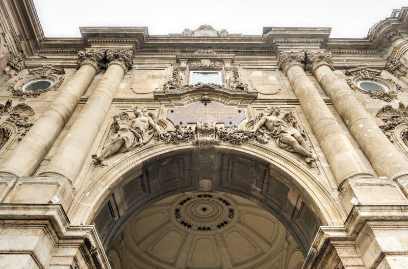 Buda Castle - Budapest, Hungria imagem de stock