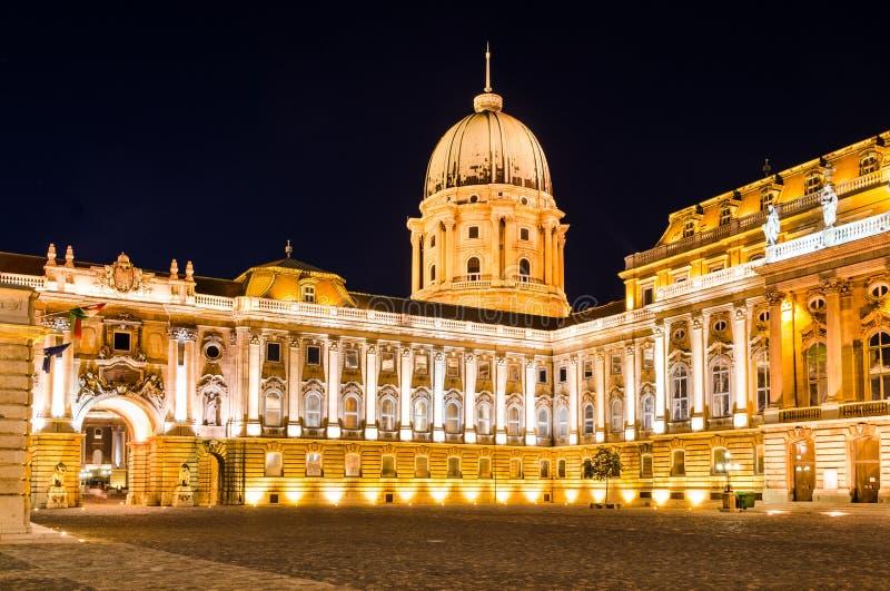 Buda Castle, Budapest royalty free stock images