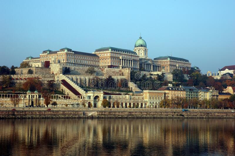 Buda Castle Near Body Of Water Under Blue Sky During Daytime Free Public Domain Cc0 Image