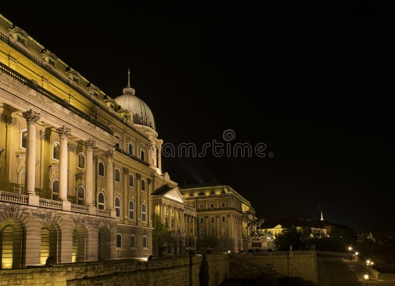 Buda Castle (Royal Palace), Budapest, Hungria imagem de stock royalty free