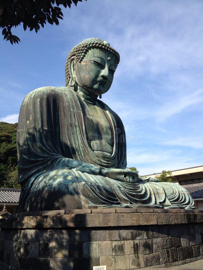 Buda de Kamakura foto de stock royalty free