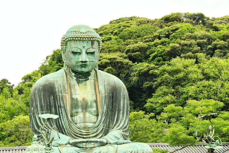 Buda de Kamakura imagem de stock