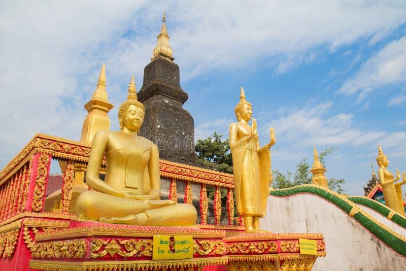 Buda de Laos del norte imágenes de archivo libres de regalías
