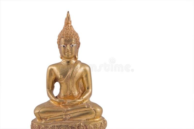 Buda de Tailândia do ouro fotos de stock royalty free