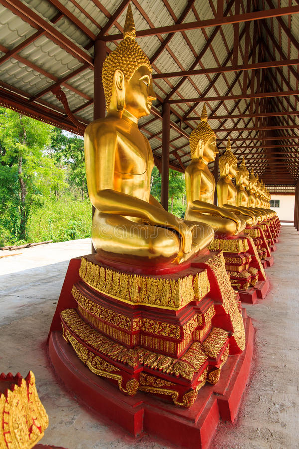Buda dourada foto de stock royalty free