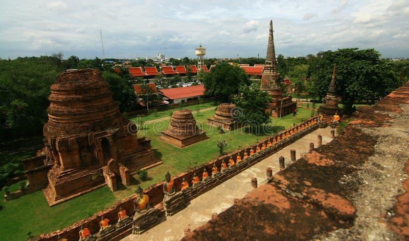 Buda en Ayutthaya, Tailandia: 4 imagen de archivo