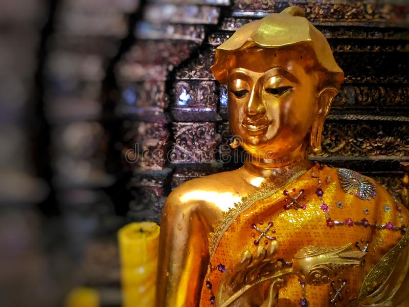 A Buda era o fundador do budismo, uma das religiões principais imagens de stock royalty free