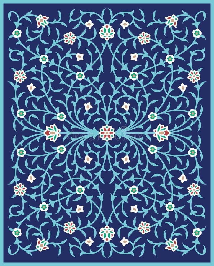 Buda Floral Ornament illustration libre de droits
