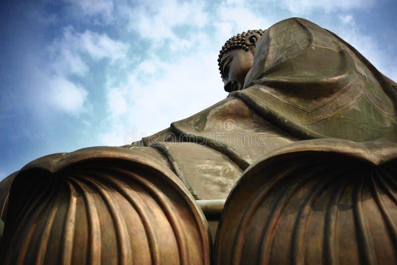 Buda grande sob o céu azul imagem de stock