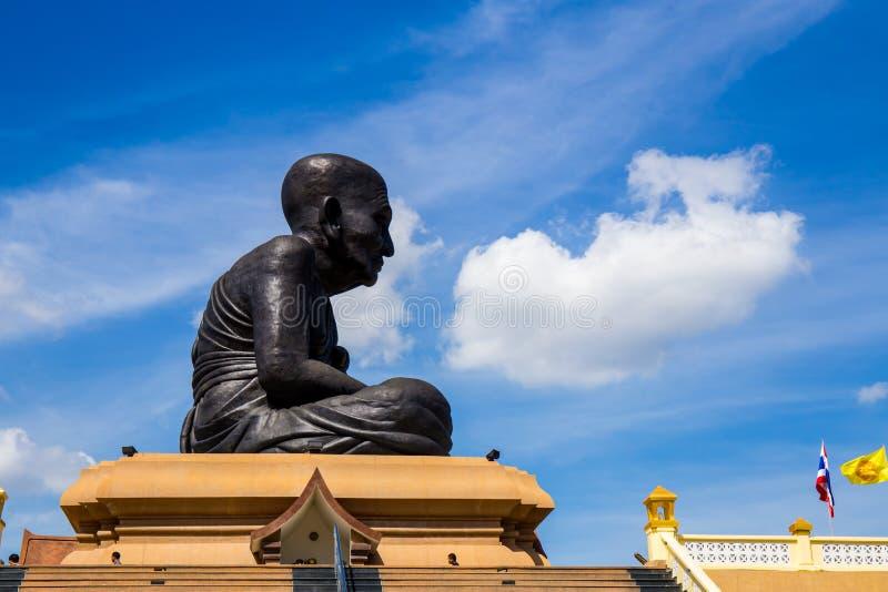 Buda grande Wat Huay Mongkol imagens de stock royalty free