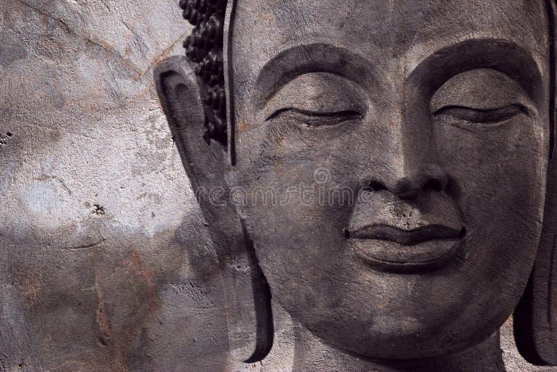 Buda hace frente hace de la cera fotografía de archivo libre de regalías