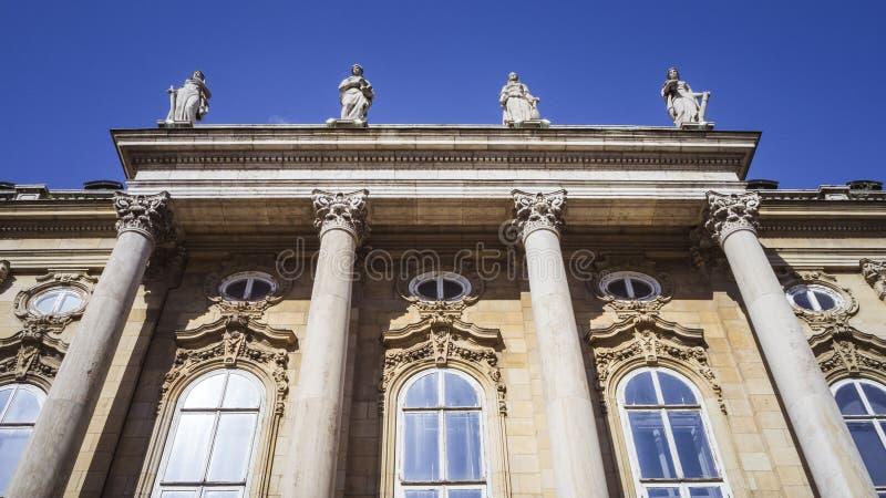 Buda kasztel w Budapest, W?gry od za obraz stock