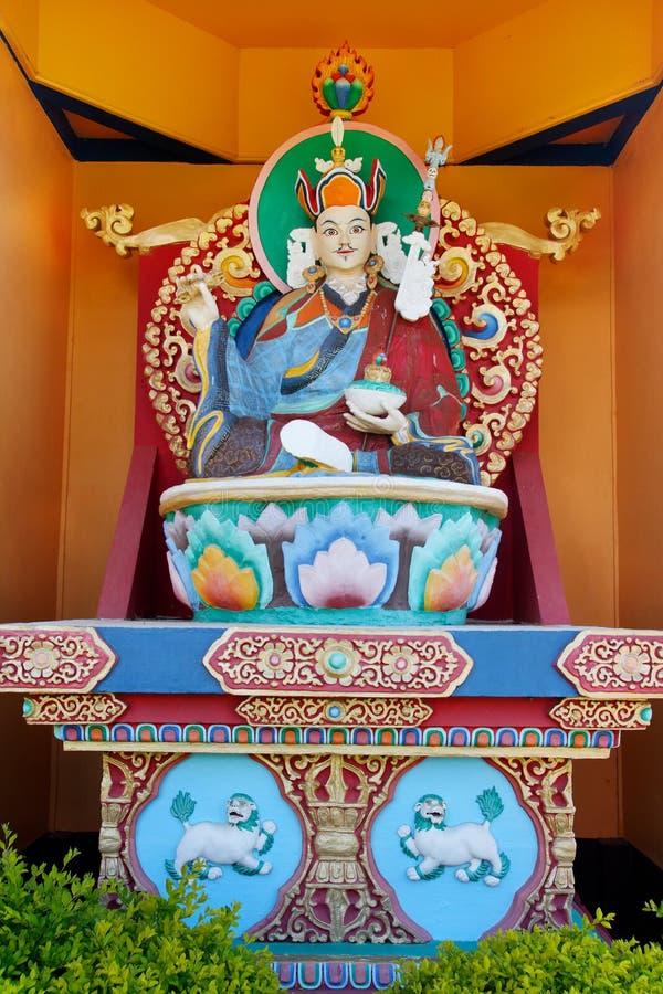 buda khadro石楠寺庙 免版税图库摄影