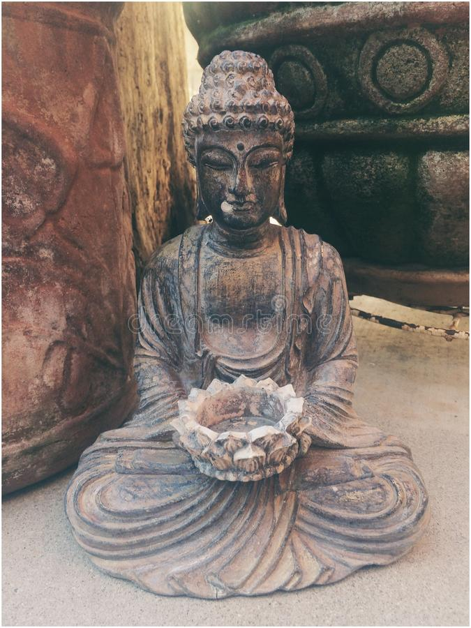 Buda meditation royalty free stock images