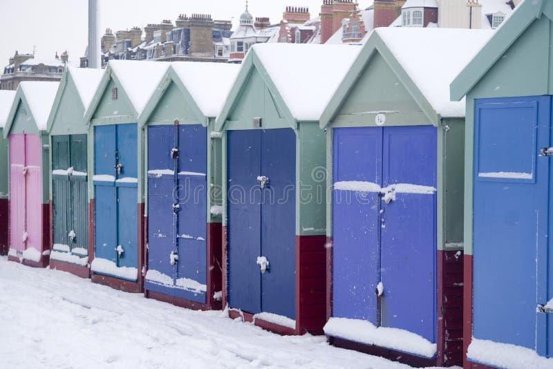 buda plażowy śnieg fotografia royalty free