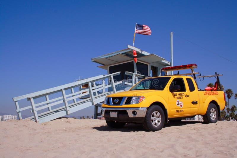 buda plażowy ratownik Venice obraz royalty free