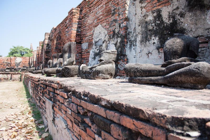 Buda quebrado fotos de archivo libres de regalías