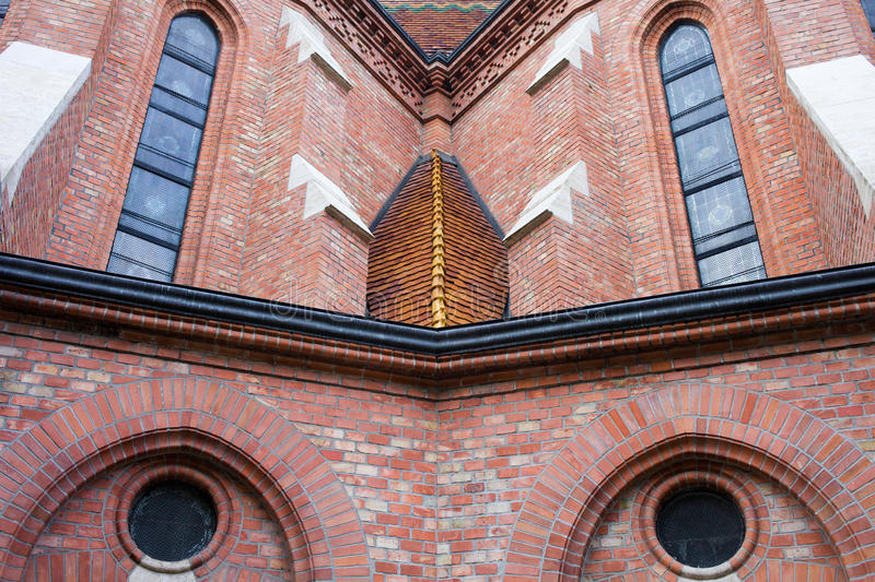 Buda Reformed Church Architectural Details stock photo