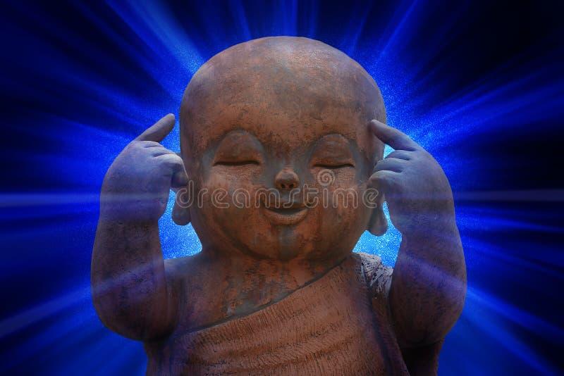Buda sonriente universal fotos de archivo