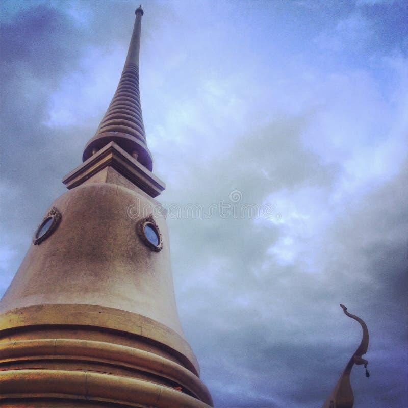 Buda tailandesa molhada fotos de stock royalty free