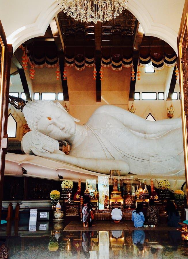 Buda, templo de Udonthani Tailandia foto de archivo libre de regalías