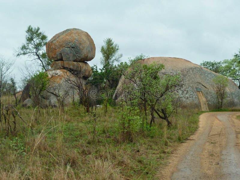 buda w skale w Africa zdjęcie stock