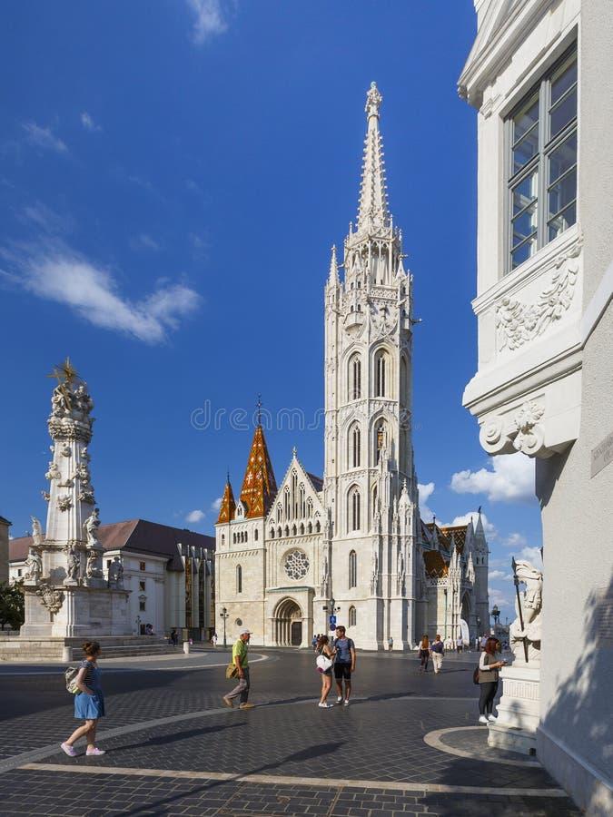Budabest, Hongarije stock afbeelding