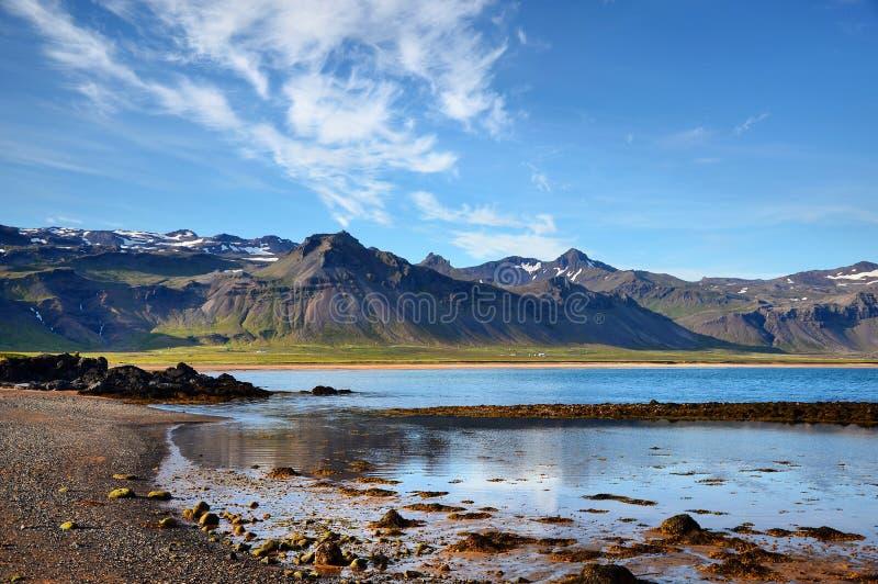 Budakirkja Islanda immagini stock