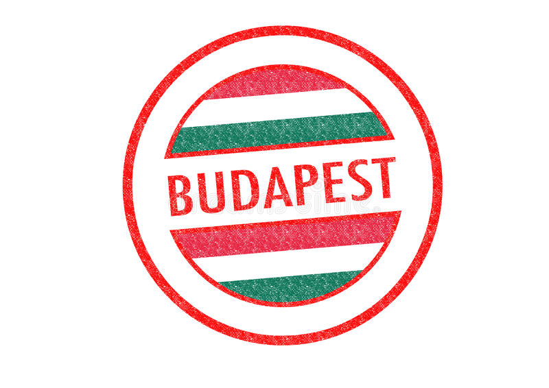 Budapest stock de ilustración
