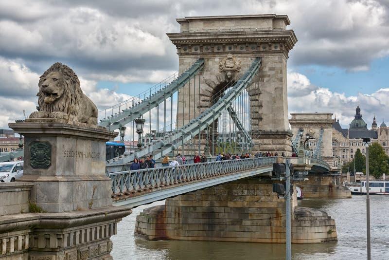 Budapest arkitektur av staden royaltyfri bild