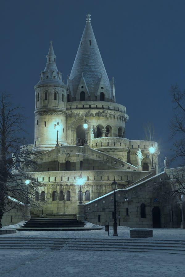 Budapest - Bastei del pescatore immagini stock libere da diritti