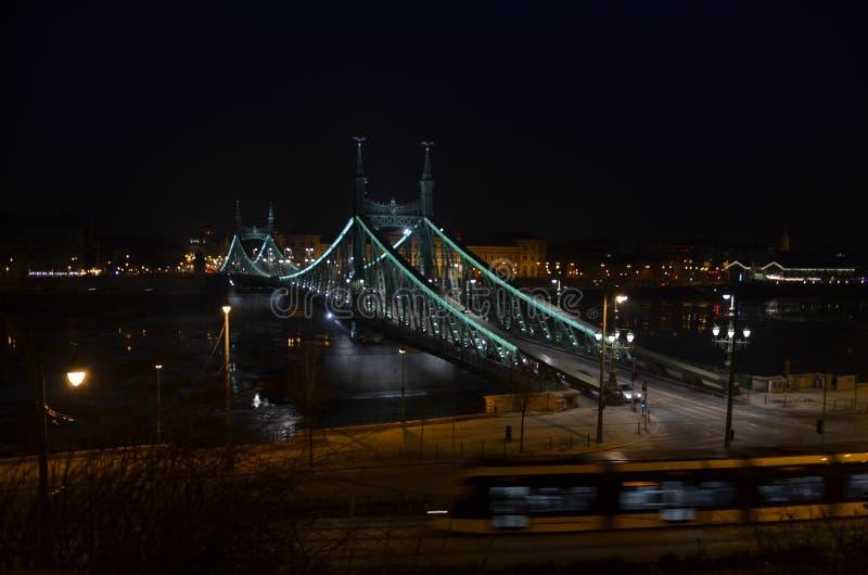 Budapest-Brücke lizenzfreies stockbild