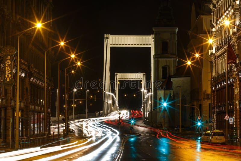 budapest bridżowy elisabeth fotografia royalty free