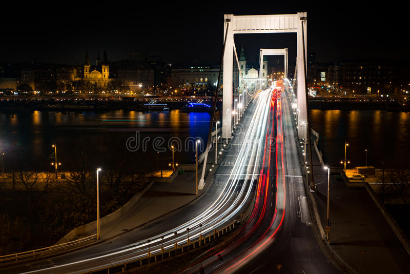 budapest bridżowy elisabeth obraz royalty free