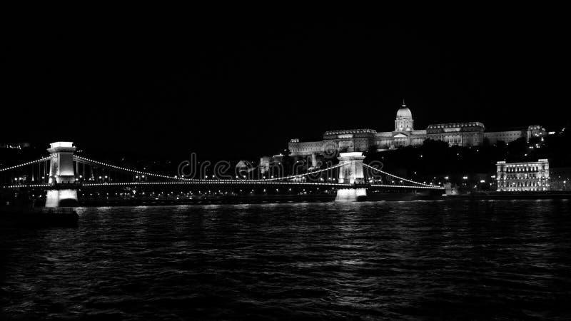 budapest bw zdjęcia stock