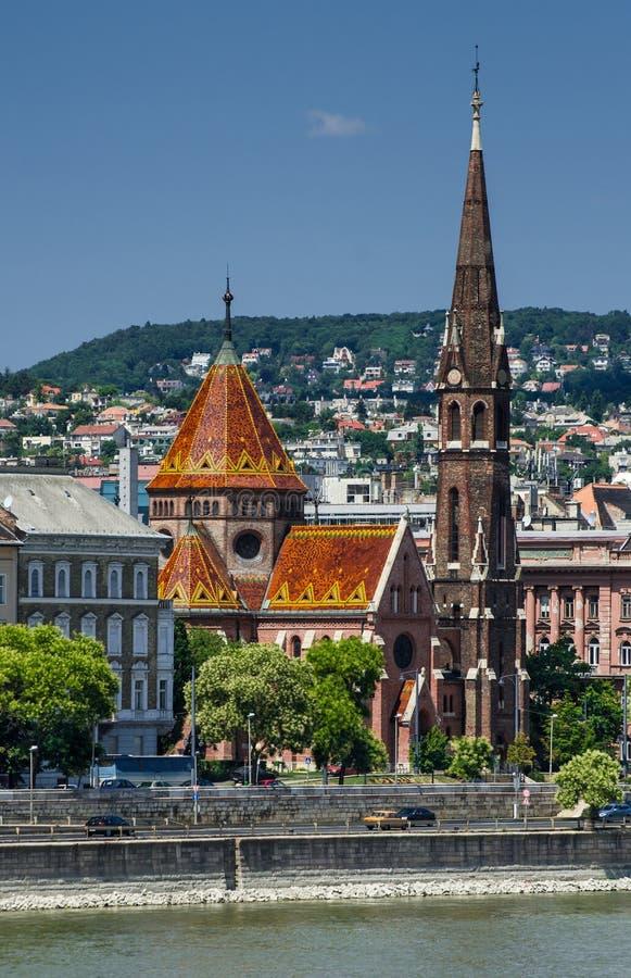 Budapest Calvinist Church, Hungary royalty free stock photos