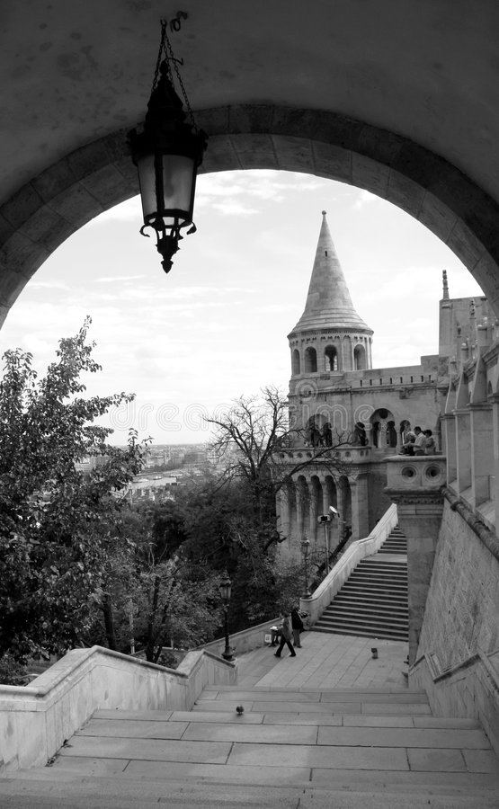 Budapest Castle District Stock Images