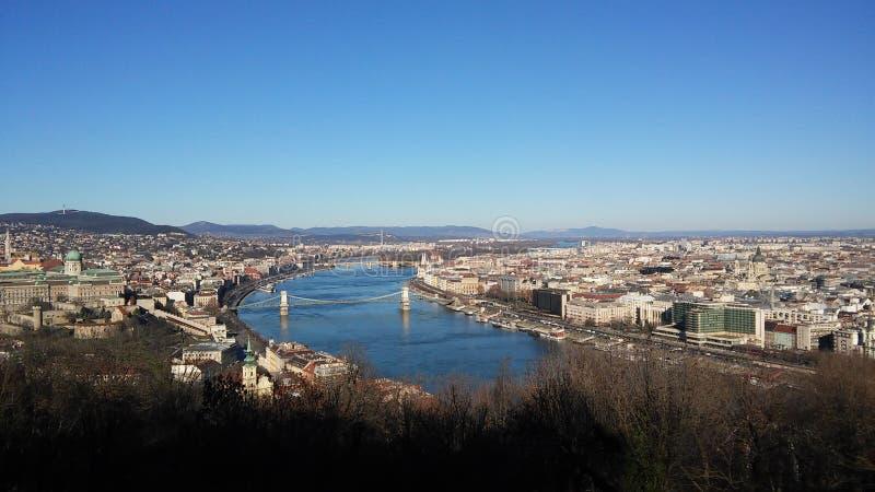 Budapest Danube stock photography