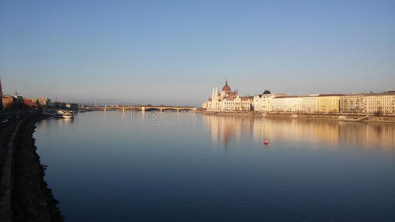 Budapest Danube royalty free stock images