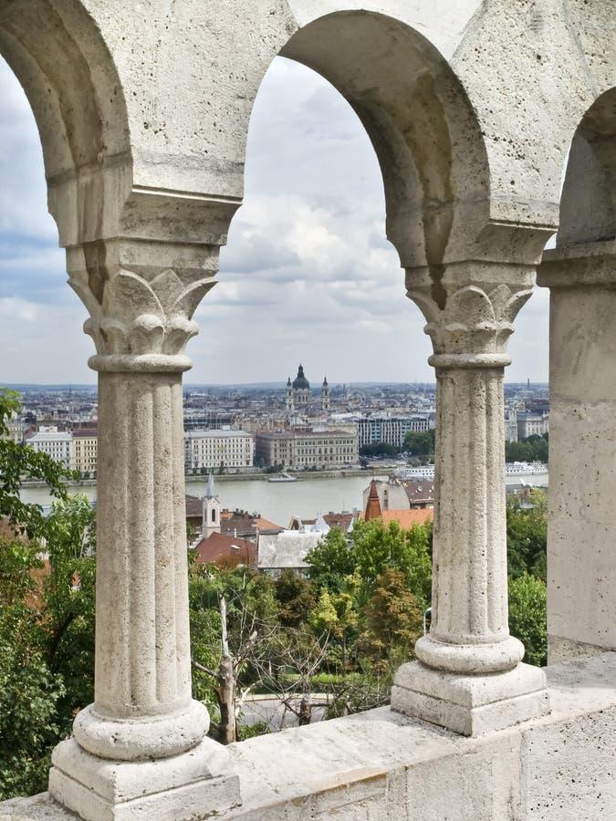 Budapest do castelo fotografia de stock royalty free