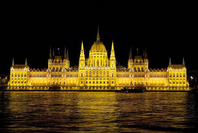 Budapest - el parlamento imagen de archivo