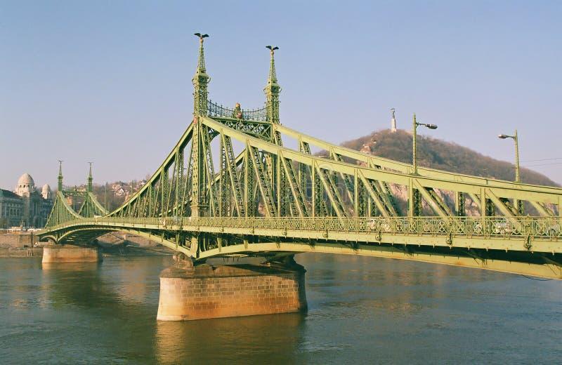 Budapest - el puente de la libertad fotografía de archivo libre de regalías