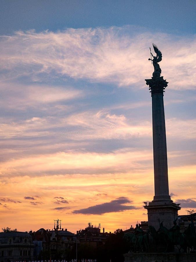 Budapest, Europa w każdy sposobie serce obrazy royalty free