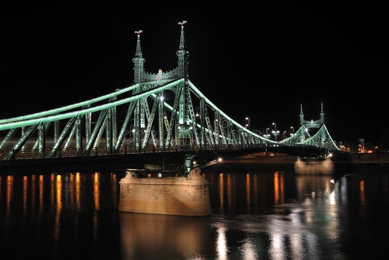 budapest för 2 bro frihet arkivfoton