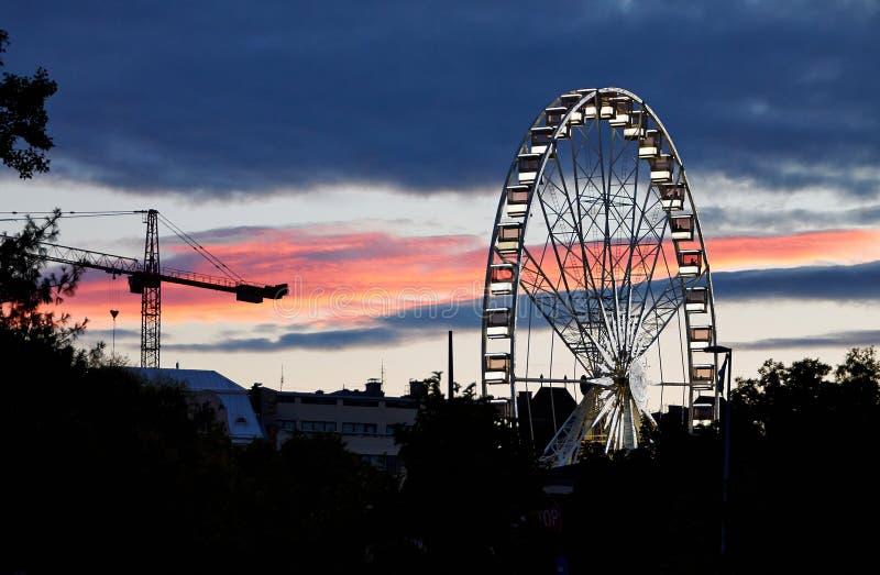 Budapest Ferris Wheel photos stock