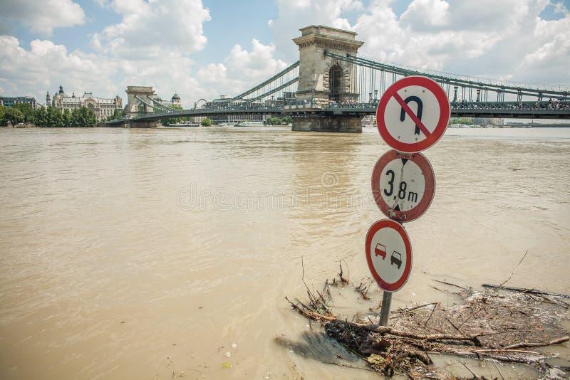 Budapest-Fluten lizenzfreie stockbilder