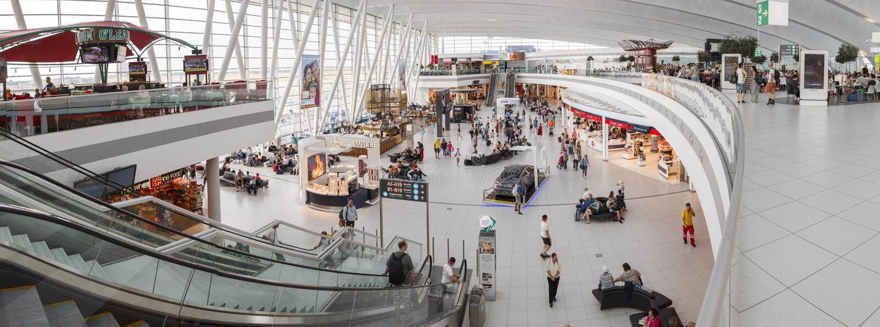 Budapest flygplats royaltyfri bild