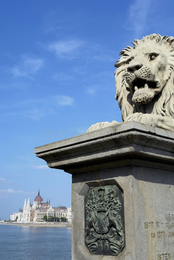 Free Budapest From The Chain Bridge Stock Images - 1374714