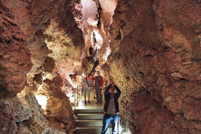 Budapest grotta royaltyfri bild