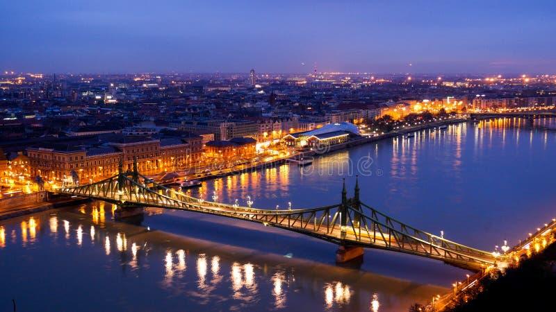 Budapest gryning royaltyfri fotografi